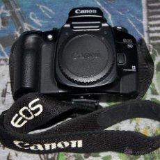 Cámara de fotos: CÁMARA CANON RÉFLEX EOS 30 ANALÓGICA - ENFOQUE POR EL OJO (EYE CONTROL) - CUERPO + CORREA + TAPA. Lote 50581138