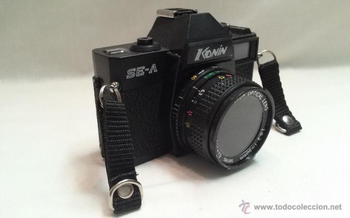 MAQUINA DE FOTOS MARCA KONIN SE-A - FABRICADA EN TAIWAN (Cámaras Fotográficas - Réflex (autofoco))