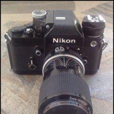 Cámara de fotos: NIKON F2A PHOTOMIC+OBJETIVO 43-86MM 1:3,5+FILTRO UV VIVITAR 52MM+ZAPATA+FUNDA+CORREA TODO ORIGINAL. Lote 51593168
