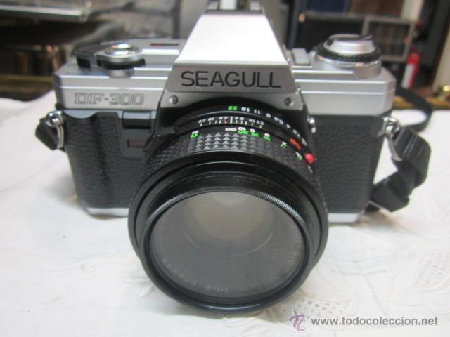 Cámara de fotos: Cámara de fotos Seagull DF-300, con bolso e instrucciones. No funciona. O no sabemos manejo - Foto 2 - 171937039