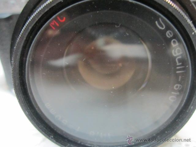 Cámara de fotos: Cámara de fotos Seagull DF-300, con bolso e instrucciones. No funciona. O no sabemos manejo - Foto 3 - 171937039