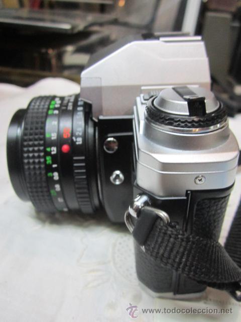 Cámara de fotos: Cámara de fotos Seagull DF-300, con bolso e instrucciones. No funciona. O no sabemos manejo - Foto 5 - 171937039