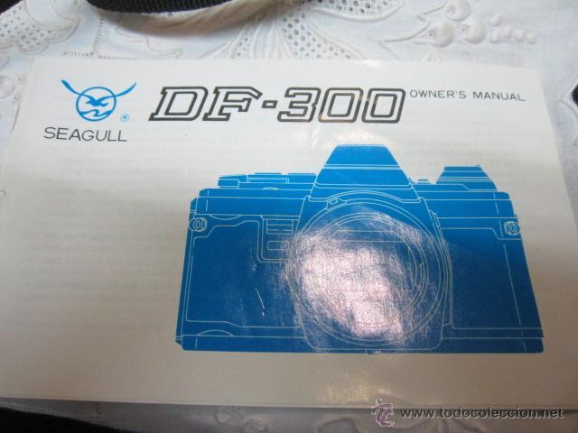 Cámara de fotos: Cámara de fotos Seagull DF-300, con bolso e instrucciones. No funciona. O no sabemos manejo - Foto 8 - 171937039