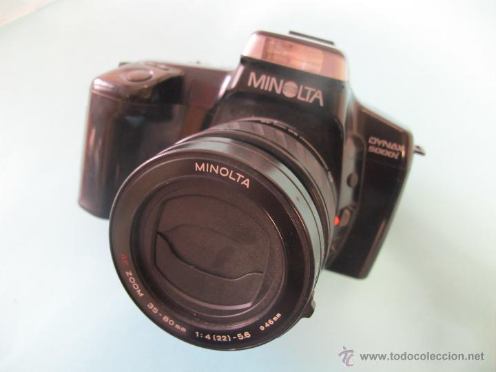 CAMARA MINOLTA DINAX 5000I + ZOOM AF 35-80 MM/ 4-5,6 (Cámaras Fotográficas - Réflex (autofoco))