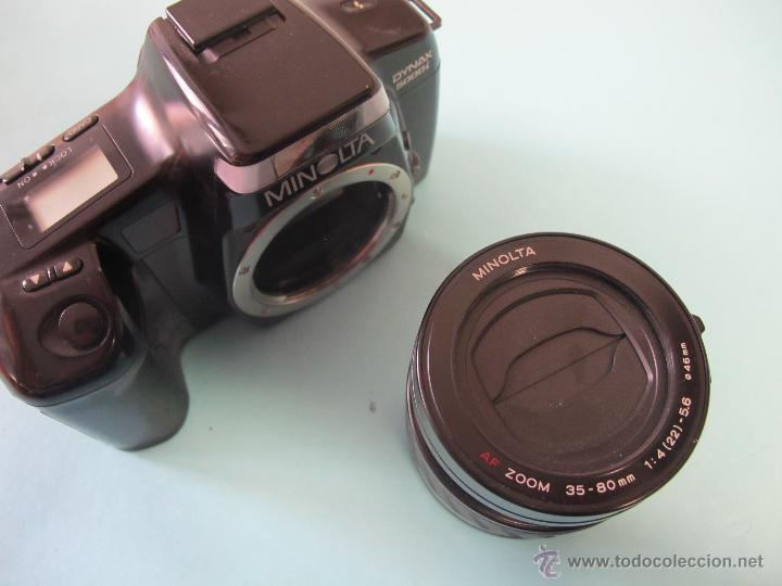 Cámara de fotos: CAMARA MINOLTA DINAX 5000i + zoom af 35-80 mm/ 4-5,6 - Foto 2 - 52024106
