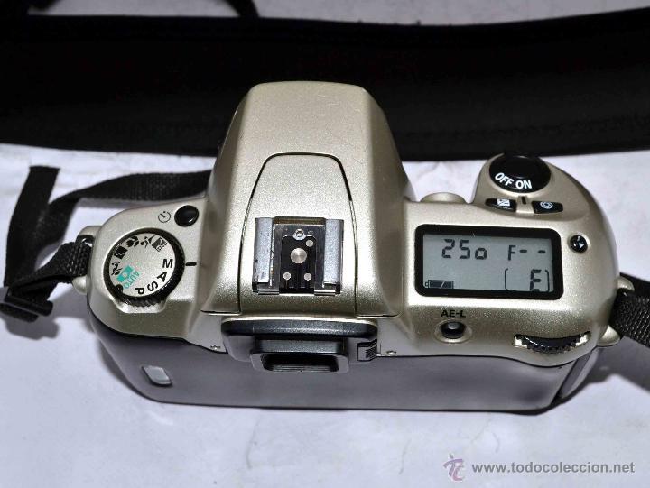 Cámara de fotos: EXCELENTE CUERPO DE CAMARA REFLEX AUTOFOCUS 35mm, NIKON N60 (F 60) CON SU CORREA..PERFECTA..FUNCIONA - Foto 2 - 52903214