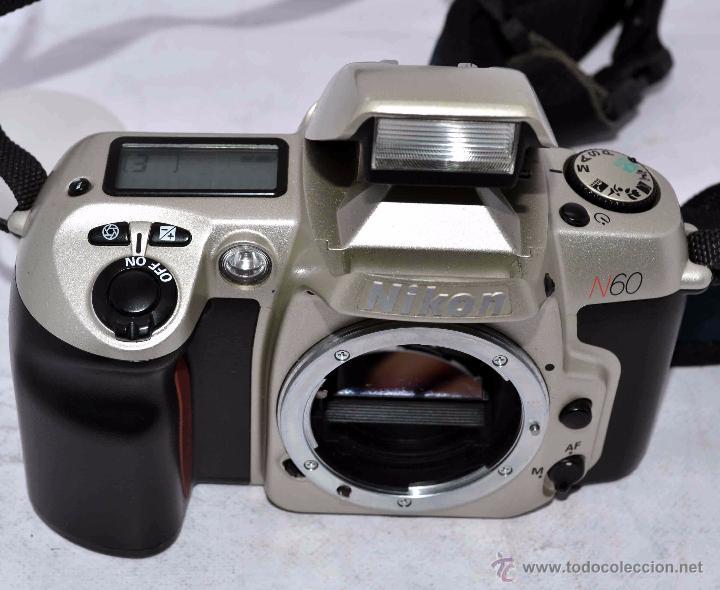 Cámara de fotos: EXCELENTE CUERPO DE CAMARA REFLEX AUTOFOCUS 35mm, NIKON N60 (F 60) CON SU CORREA..PERFECTA..FUNCIONA - Foto 12 - 52903214