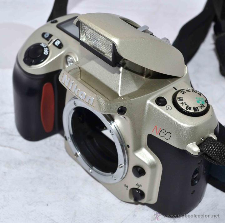 Cámara de fotos: EXCELENTE CUERPO DE CAMARA REFLEX AUTOFOCUS 35mm, NIKON N60 (F 60) CON SU CORREA..PERFECTA..FUNCIONA - Foto 13 - 52903214
