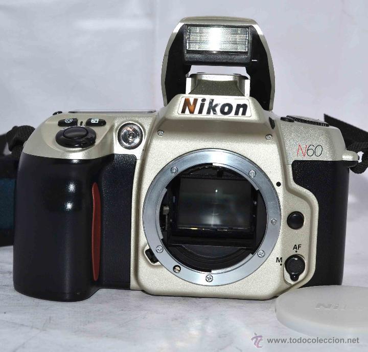 Cámara de fotos: EXCELENTE CUERPO DE CAMARA REFLEX AUTOFOCUS 35mm, NIKON N60 (F 60) CON SU CORREA..PERFECTA..FUNCIONA - Foto 17 - 52903214