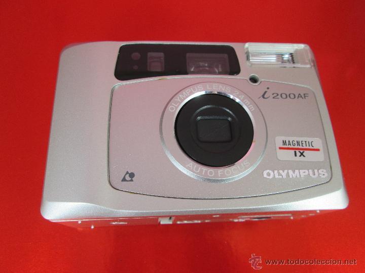 CÁMARA FOTOGRAFICA-OLYMPUS I200AF-MAGNETIC IX-COMO NUEVA-VER FOTOS (Cámaras Fotográficas - Réflex (autofoco))