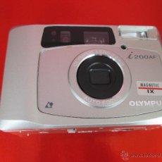 Cámara de fotos: CÁMARA FOTOGRAFICA-OLYMPUS I200AF-MAGNETIC IX-COMO NUEVA-VER FOTOS. Lote 53838251