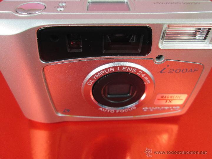 Cámara de fotos: CÁMARA FOTOGRAFICA-OLYMPUS I200AF-MAGNETIC IX-COMO NUEVA-VER FOTOS - Foto 2 - 53838251