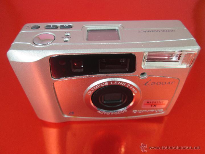 Cámara de fotos: CÁMARA FOTOGRAFICA-OLYMPUS I200AF-MAGNETIC IX-COMO NUEVA-VER FOTOS - Foto 8 - 53838251