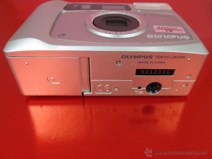 Cámara de fotos: CÁMARA FOTOGRAFICA-OLYMPUS I200AF-MAGNETIC IX-COMO NUEVA-VER FOTOS - Foto 9 - 53838251
