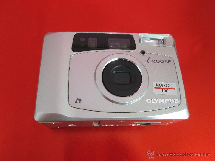 Cámara de fotos: CÁMARA FOTOGRAFICA-OLYMPUS I200AF-MAGNETIC IX-COMO NUEVA-VER FOTOS - Foto 10 - 53838251