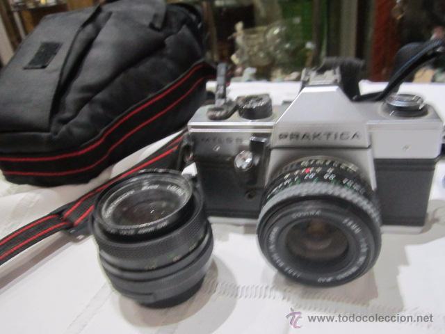 CÁMARA DE FOTOS PRAKTICA MTL 5B, CON DOS OBJETIVOS Y BOLSA (Cámaras Fotográficas - Réflex (autofoco))