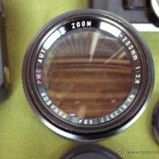 Cámara de fotos: CAMARA CANON AE1 AÑO 1982 FUNCIONANDO,EN PERFECTO ESTADO DE FUNCIONAMIENTO Y CONSERVACION.-. Lote 54769657
