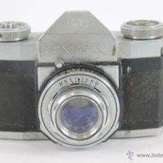 Cámara de fotos: CAMARA FOTOGRAFICA ZEISS IKON. CONTAFLEX I SYNCHRO COMPUR. 1950.. Lote 49074291