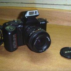 Cámara de fotos: CAMARA NIKON F-401S CON OBJETIVO NIKKOR 35-70MM. Lote 55210062