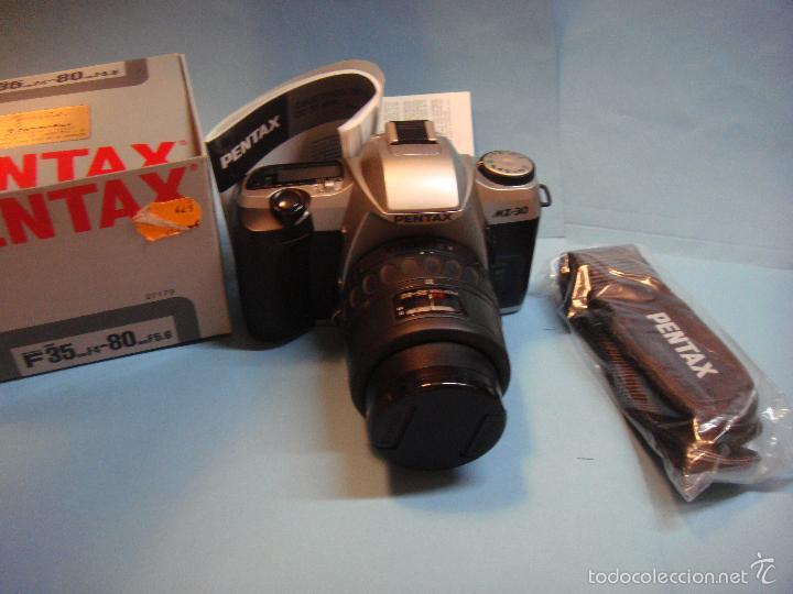 Cámara de fotos: Cámara reflex analógica Pentax MZ 30 con objetivo 35-80. Incluye correa. cámara fotografica - Foto 2 - 55339067