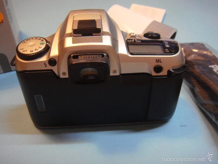 Cámara de fotos: Cámara reflex analógica Pentax MZ 30 con objetivo 35-80. Incluye correa. cámara fotografica - Foto 3 - 55339067