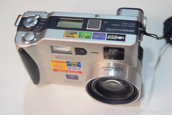 Cámara de fotos: Sony camara digital. - Foto 2 - 55898987