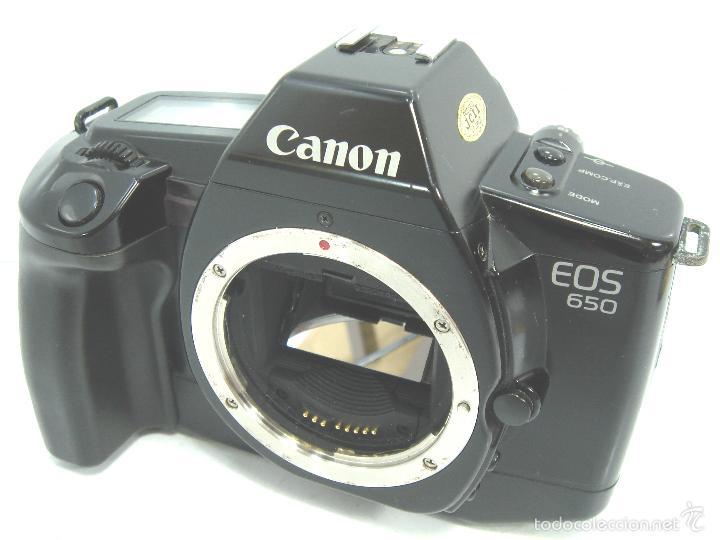 CUERPO CANON EOS 650 AF - ¡¡EXCELENTE Y FUNCIONANDO¡¡ - EOS 650 - REFLEX AUTOFOCO - 35MM 35 MM (Cámaras Fotográficas - Réflex (autofoco))