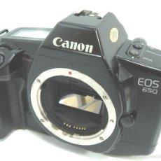 Cámara de fotos: CUERPO CANON EOS 650 AF - ¡¡EXCELENTE Y FUNCIONANDO¡¡ - EOS 650 - REFLEX AUTOFOCO - 35MM 35 MM. Lote 55935663