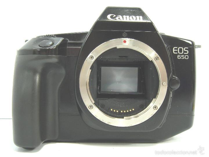 Cámara de fotos: CUERPO CANON EOS 650 AF - ¡¡EXCELENTE Y FUNCIONANDO¡¡ - EOS 650 - REFLEX AUTOFOCO - 35MM 35 MM - Foto 2 - 55935663