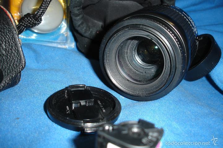 Cámara de fotos: CÁMARA FOTOGRÁFICA NIKON F80 CON TRES OBJETIVOS MÁS ACCESORIOS - Foto 11 - 57206513