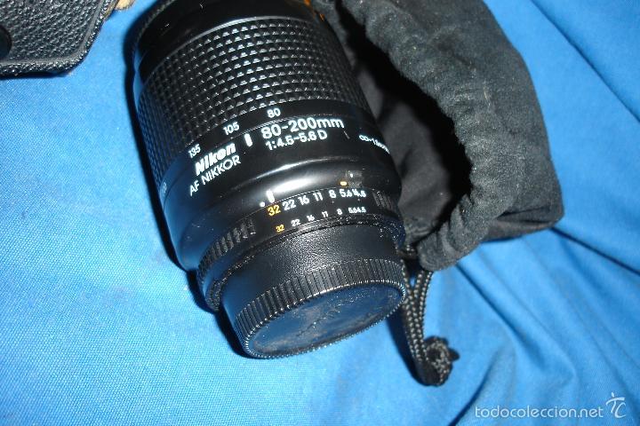 Cámara de fotos: CÁMARA FOTOGRÁFICA NIKON F80 CON TRES OBJETIVOS MÁS ACCESORIOS - Foto 12 - 57206513