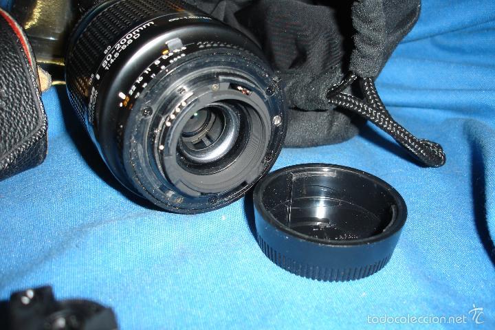 Cámara de fotos: CÁMARA FOTOGRÁFICA NIKON F80 CON TRES OBJETIVOS MÁS ACCESORIOS - Foto 13 - 57206513