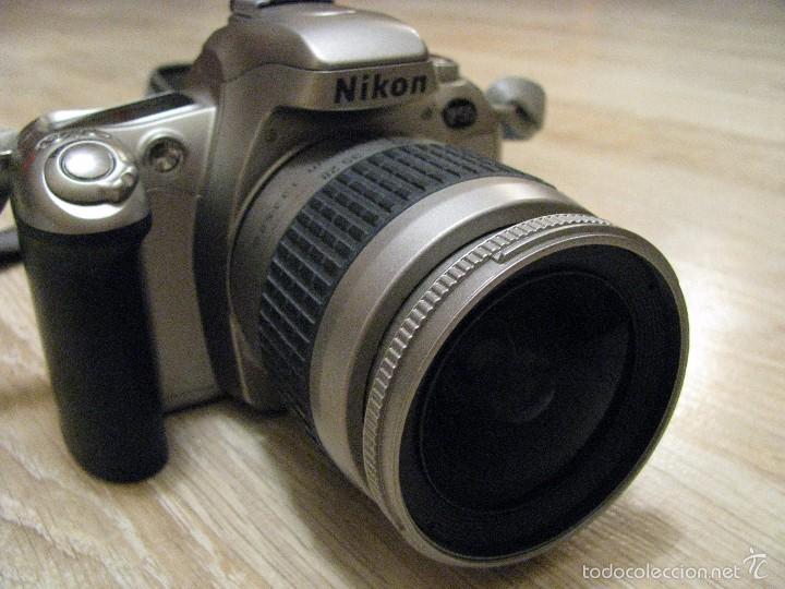 Cámara de fotos: CÁMARA DE FOTOS NIKON F55 35MM CARRETE, OBJETIVO NIKON AUTOFOCUS 28-80mm BOLSO, MONOPODE Y MAS. - Foto 11 - 57334659