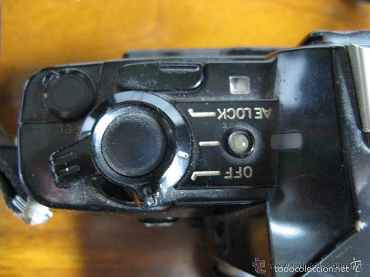 Cámara de fotos: CAMARA FOTOS CONTAX 137 MD CUARTZ 026941 CON TELE RMC TOKINA 100-300mm 1: 5.6 - Foto 2 - 57982968