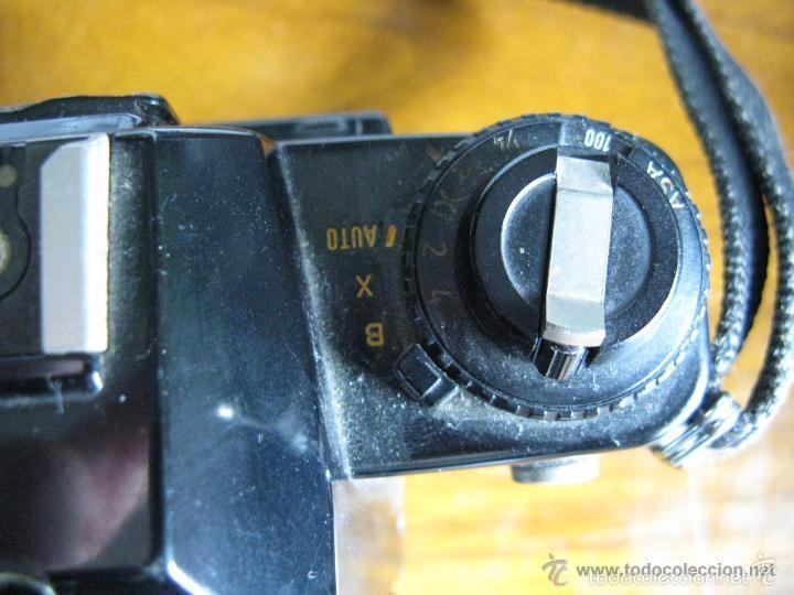 Cámara de fotos: CAMARA FOTOS CONTAX 137 MD CUARTZ 026941 CON TELE RMC TOKINA 100-300mm 1: 5.6 - Foto 3 - 57982968