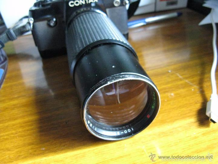 Cámara de fotos: CAMARA FOTOS CONTAX 137 MD CUARTZ 026941 CON TELE RMC TOKINA 100-300mm 1: 5.6 - Foto 5 - 57982968