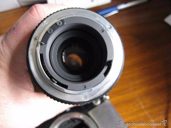 Cámara de fotos: CAMARA FOTOS CONTAX 137 MD CUARTZ 026941 CON TELE RMC TOKINA 100-300mm 1: 5.6 - Foto 8 - 57982968