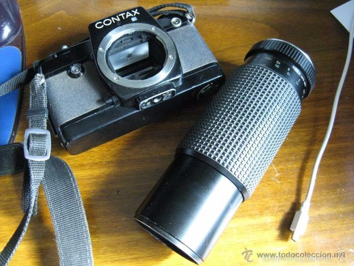 Cámara de fotos: CAMARA FOTOS CONTAX 137 MD CUARTZ 026941 CON TELE RMC TOKINA 100-300mm 1: 5.6 - Foto 10 - 57982968