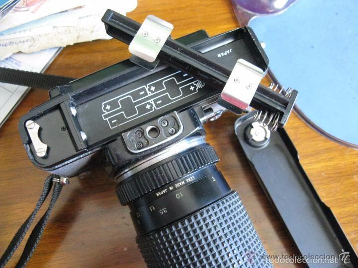 Cámara de fotos: CAMARA FOTOS CONTAX 137 MD CUARTZ 026941 CON TELE RMC TOKINA 100-300mm 1: 5.6 - Foto 11 - 57982968