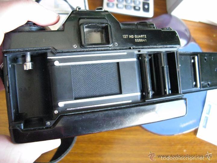 Cámara de fotos: CAMARA FOTOS CONTAX 137 MD CUARTZ 026941 CON TELE RMC TOKINA 100-300mm 1: 5.6 - Foto 12 - 57982968