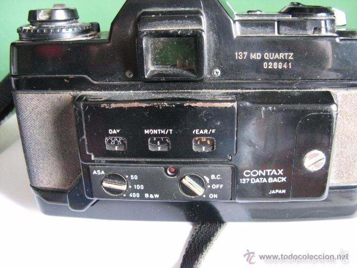 Cámara de fotos: CAMARA FOTOS CONTAX 137 MD CUARTZ 026941 CON TELE RMC TOKINA 100-300mm 1: 5.6 - Foto 14 - 57982968