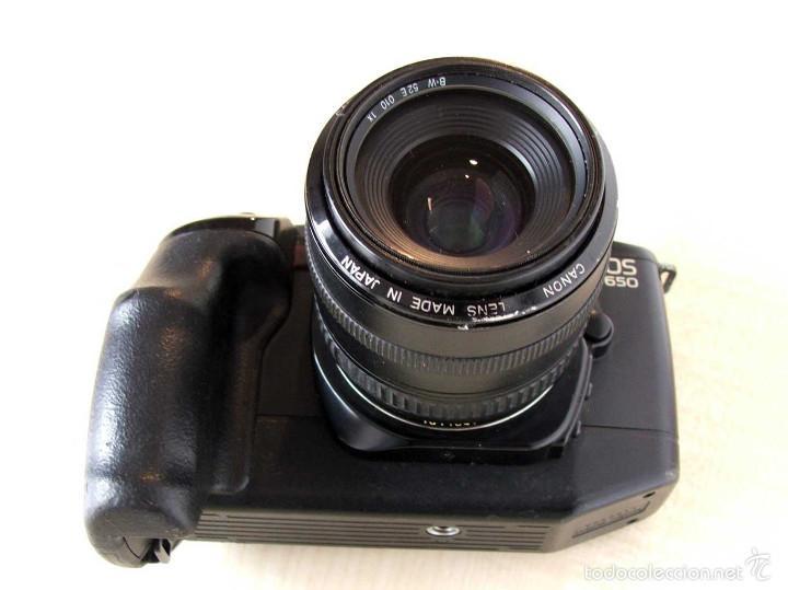 CANON EOS 650 CON EF 35-70 MM/3.5-4.5 (Cámaras Fotográficas - Réflex (autofoco))
