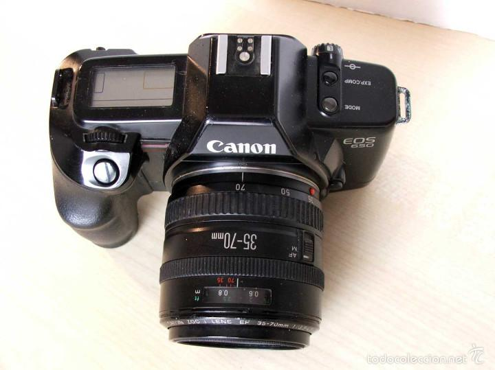 Cámara de fotos: Canon EOS 650 con EF 35-70 mm/3.5-4.5 - Foto 4 - 58794116