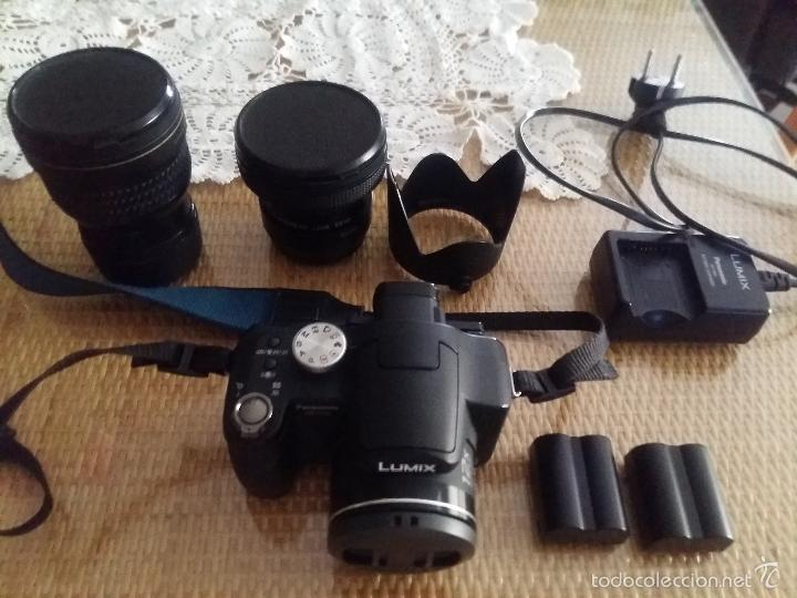 OTROS GOYO - CAMARA REFLEX PANASONIC LUMIX + ACCESORIOS - 17 IMAGENES *OFERTA *AA99 (Cámaras Fotográficas - Réflex (autofoco))