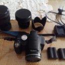 Cámara de fotos: OTROS GOYO - CAMARA REFLEX PANASONIC LUMIX + ACCESORIOS - 17 IMAGENES *OFERTA *AA99. Lote 83781420