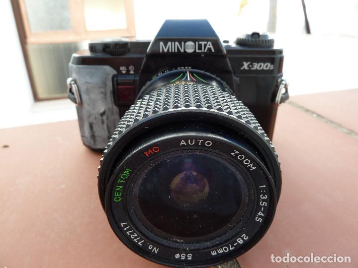 CAMARA DE FOTOS MINOLTA X-300S (Cámaras Fotográficas - Réflex (autofoco))