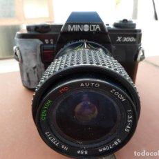 Cámara de fotos: CAMARA DE FOTOS MINOLTA X-300S. Lote 62059172