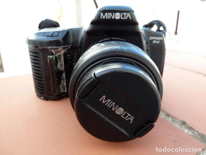 CAMARA MINOLTA DYNAX 3XI CON OBJETIVO MINOLTA 35-80MM INCLUYE FILTRO SIONI 49MM (Cámaras Fotográficas - Réflex (autofoco))