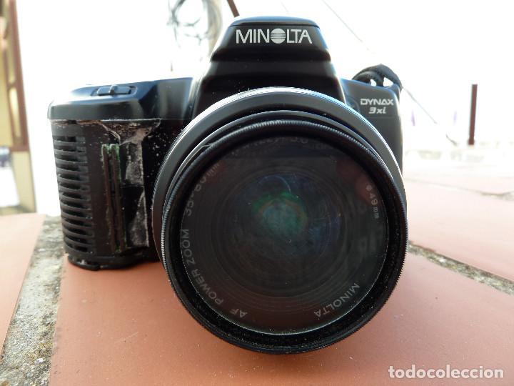 Cámara de fotos: CAMARA MINOLTA DYNAX 3XI CON OBJETIVO MINOLTA 35-80MM INCLUYE FILTRO SIONI 49MM - Foto 2 - 62917228