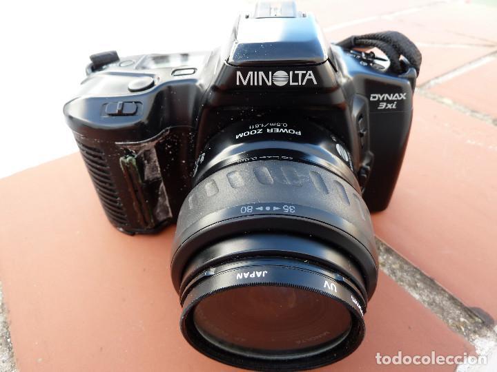 Cámara de fotos: CAMARA MINOLTA DYNAX 3XI CON OBJETIVO MINOLTA 35-80MM INCLUYE FILTRO SIONI 49MM - Foto 5 - 62917228